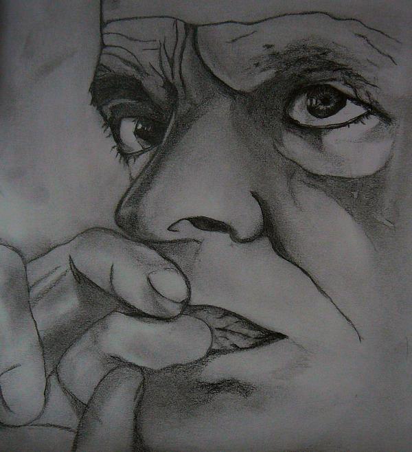 Klaus Kinski by Gina